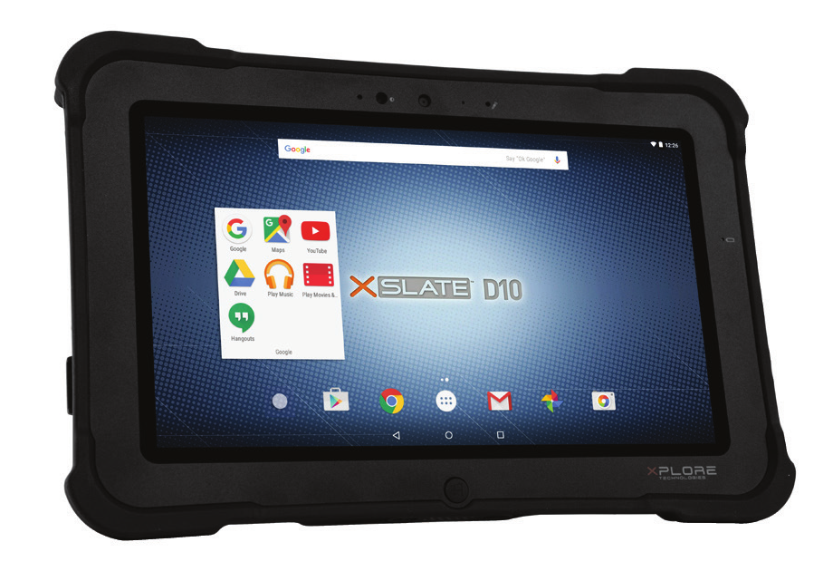 Tablette durcie Xplore XSlate D10