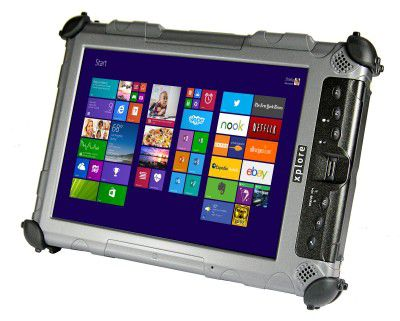 Tablette ultra-durcie Xplore Série XC6