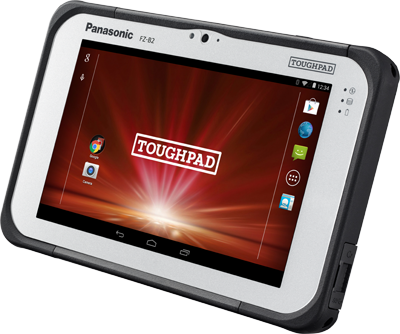 tablette panasonic fzb2 profil
